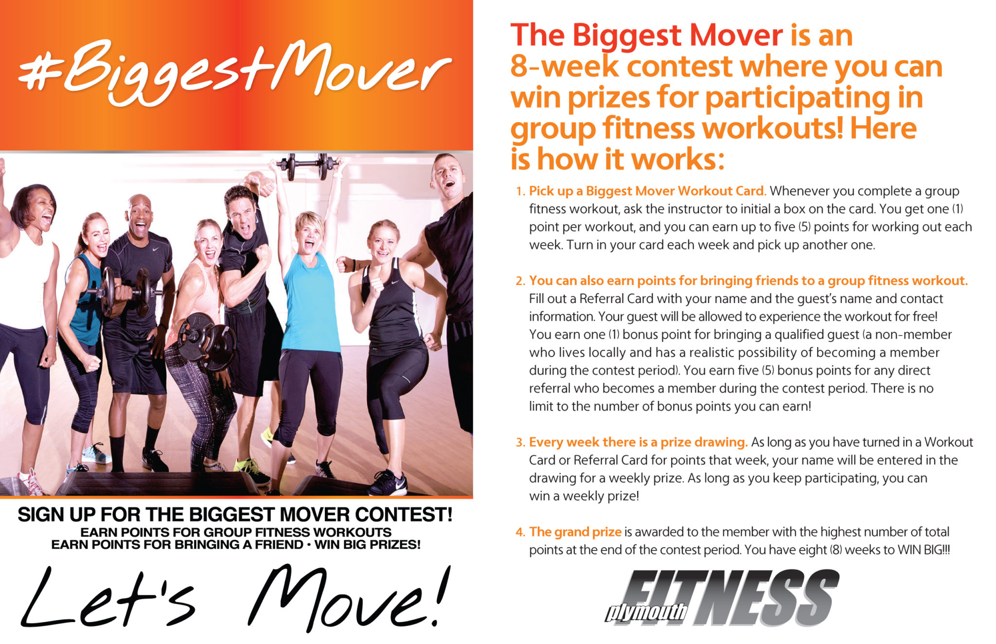 Plymouth fitness the biggest mover contest xflitez Images