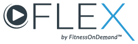 Flex Fitness On Demand logo